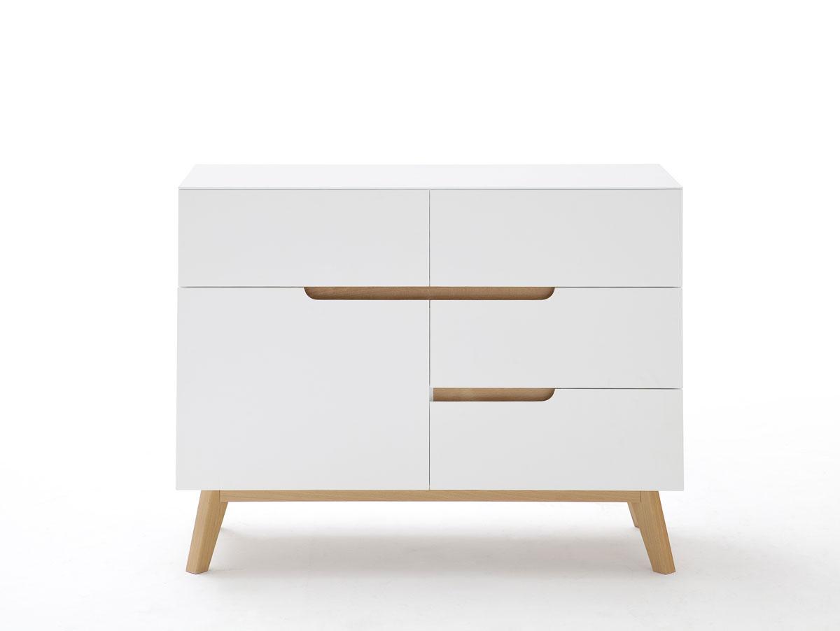 cava kommode matt wei eichefarbig. Black Bedroom Furniture Sets. Home Design Ideas