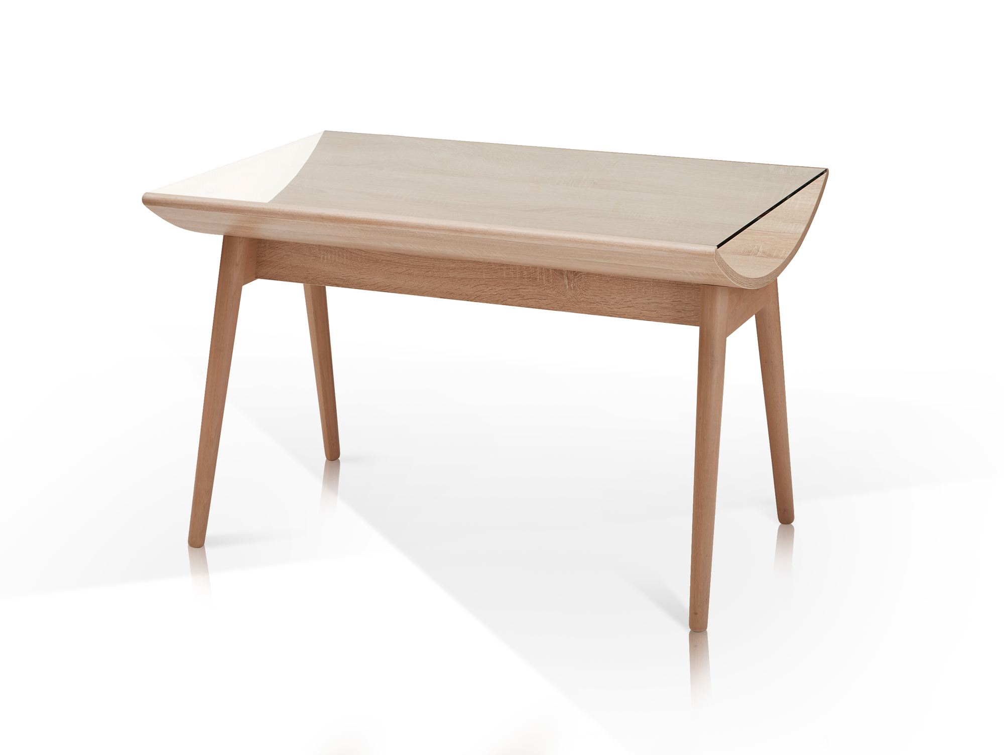 emely essgruppe eiche sonoma grau. Black Bedroom Furniture Sets. Home Design Ideas