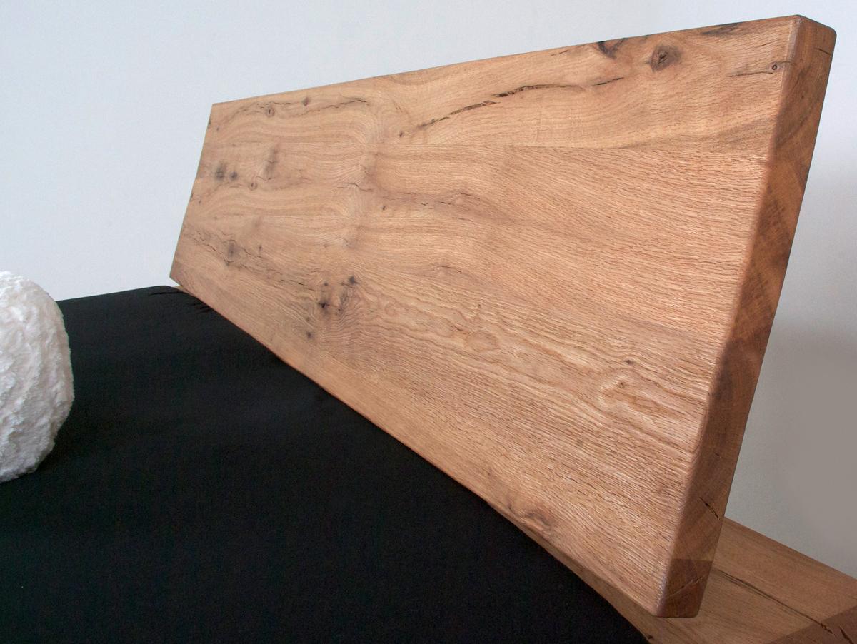Massivholzbetten eiche  MORTON Doppelbett / Massivholzbett Eiche geölt 140 x 200 cm