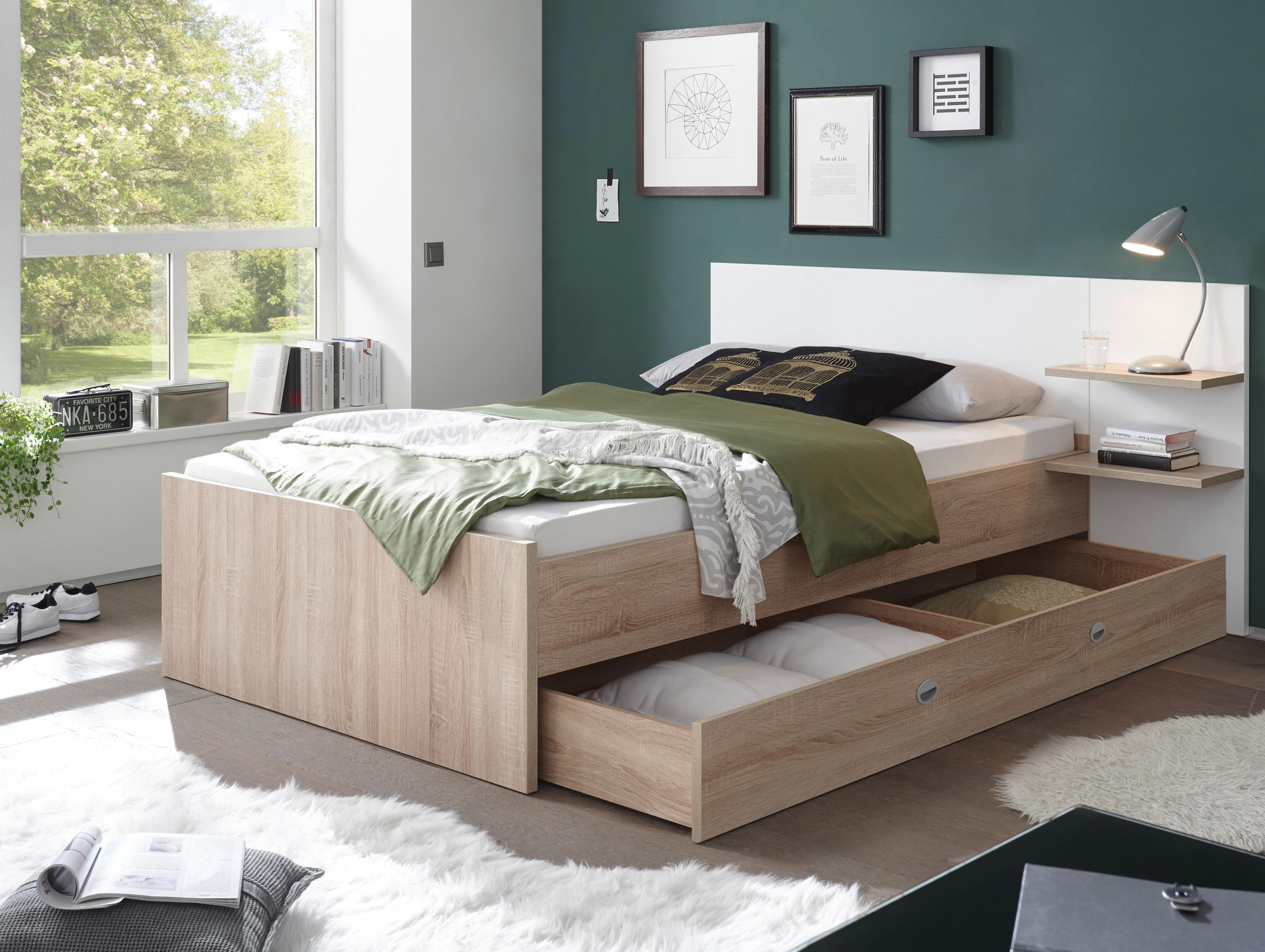 piana einzelbett 90x200 cm material dekorspanplatte. Black Bedroom Furniture Sets. Home Design Ideas