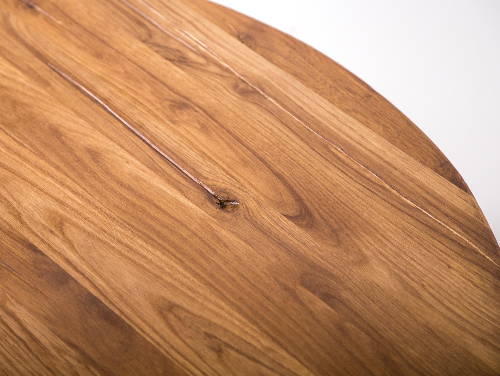 Washington couchtisch wildeiche ge lt mit holzplatte for Couchtisch mit holzplatte