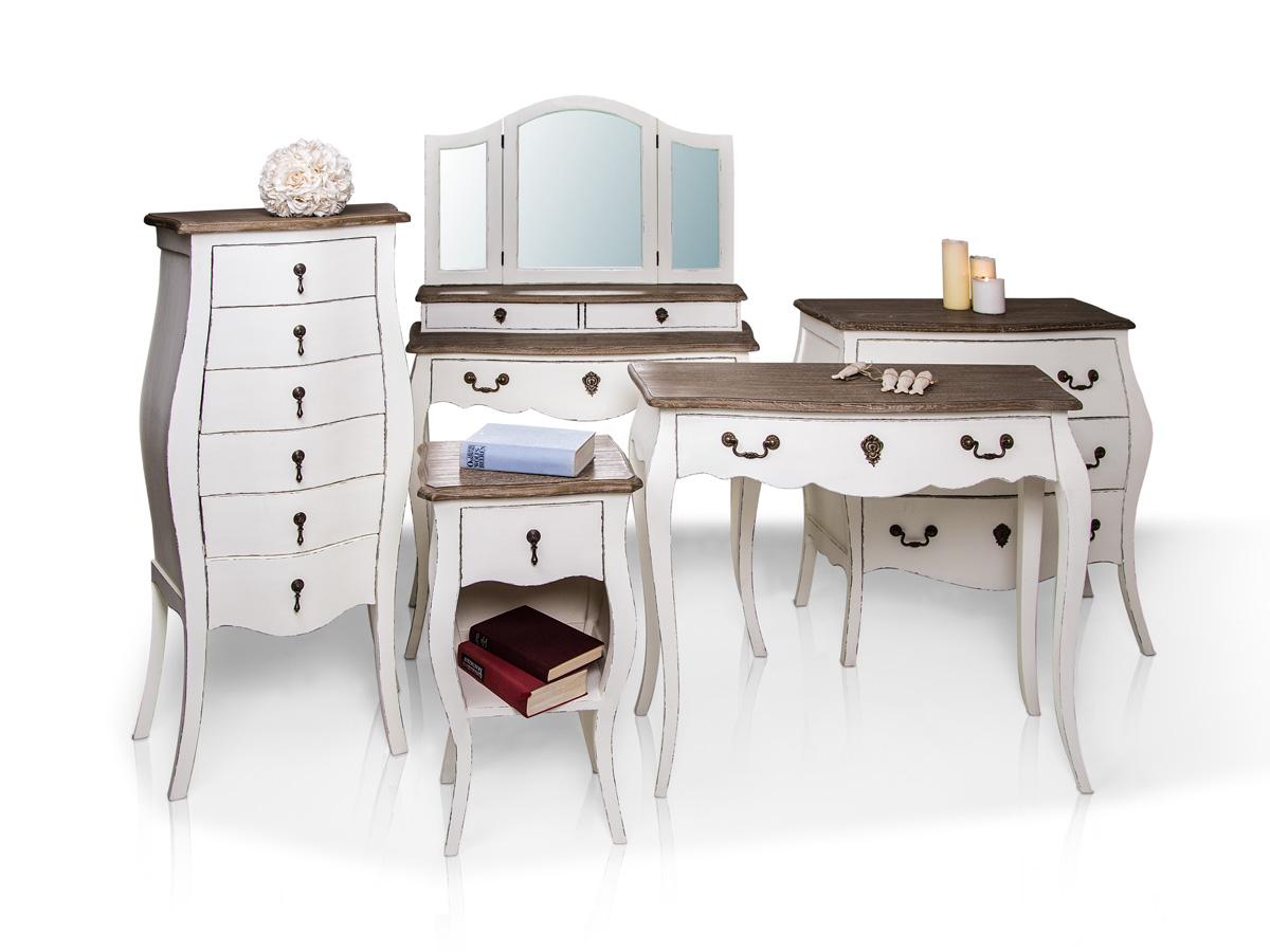 paul konsole tisch weiss eiche. Black Bedroom Furniture Sets. Home Design Ideas