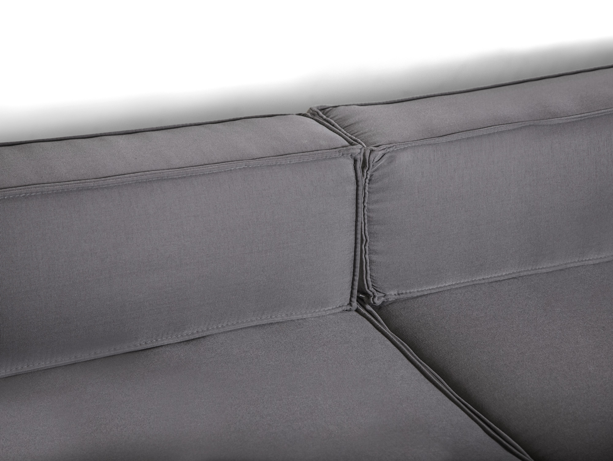 outdoor paletti 3 sitzer m ottomane europaletten weiss mit wasserfesten polstern. Black Bedroom Furniture Sets. Home Design Ideas