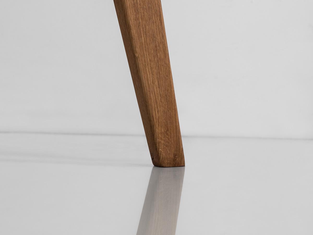 AUSTIN Couchtisch eckig Wildeiche geölt 65 x 65 cm
