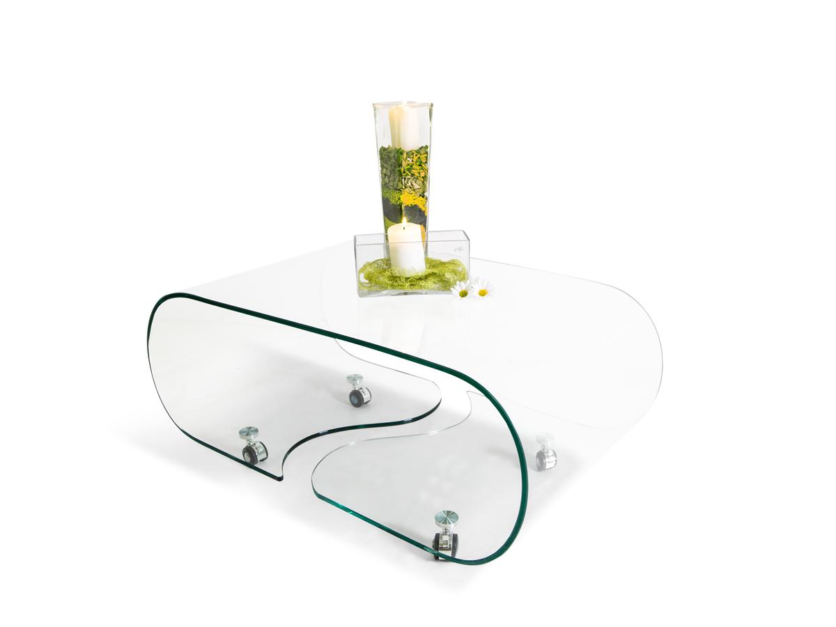 Glastisch olivia bestseller shop f r m bel und einrichtungen for Designer glastisch auf rollen