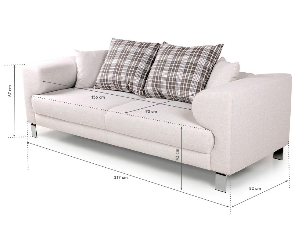 folke 3 sitzer sofa beige. Black Bedroom Furniture Sets. Home Design Ideas