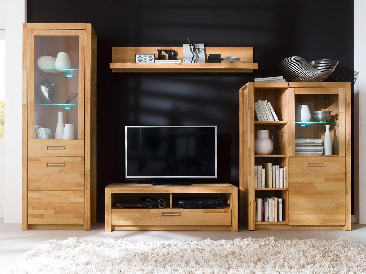 fanja tv element massiv kernbuche. Black Bedroom Furniture Sets. Home Design Ideas