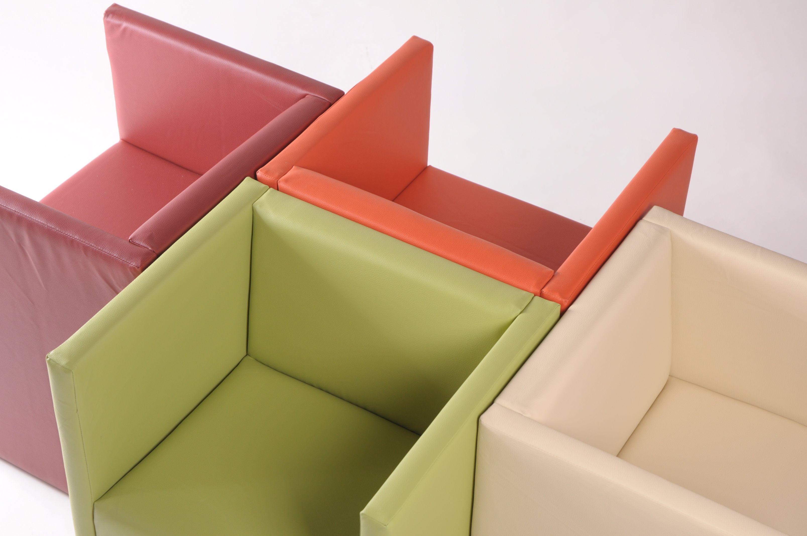 domnius cocktailsessel in kunstleder weinrot. Black Bedroom Furniture Sets. Home Design Ideas