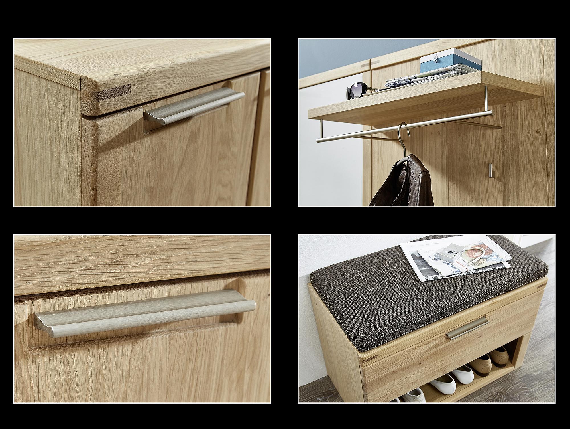 bianca lowboard wildeiche teilmassiv. Black Bedroom Furniture Sets. Home Design Ideas