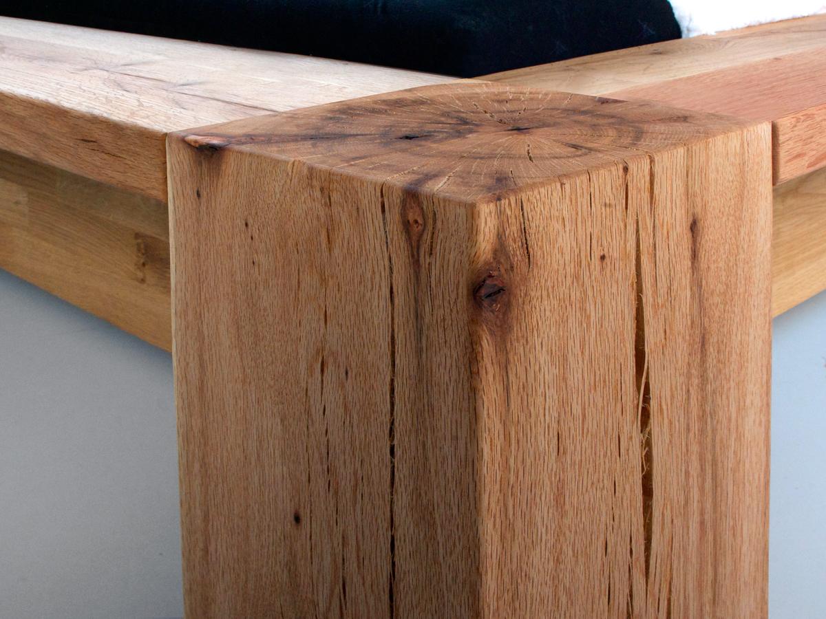 morton doppelbett massivholzbett eiche ge lt 160 x 200 cm. Black Bedroom Furniture Sets. Home Design Ideas