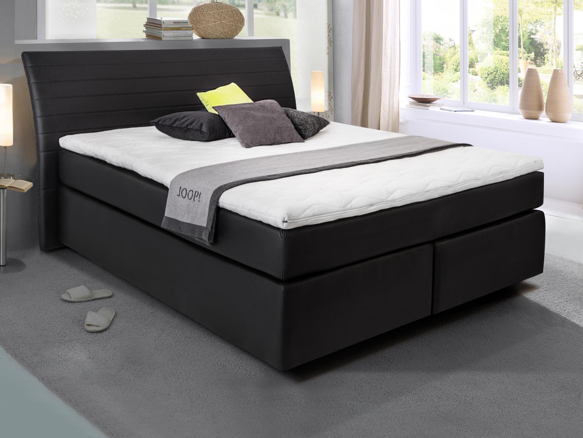 heaven boxspringbett kunstlederbezug 160 x 200 cm. Black Bedroom Furniture Sets. Home Design Ideas