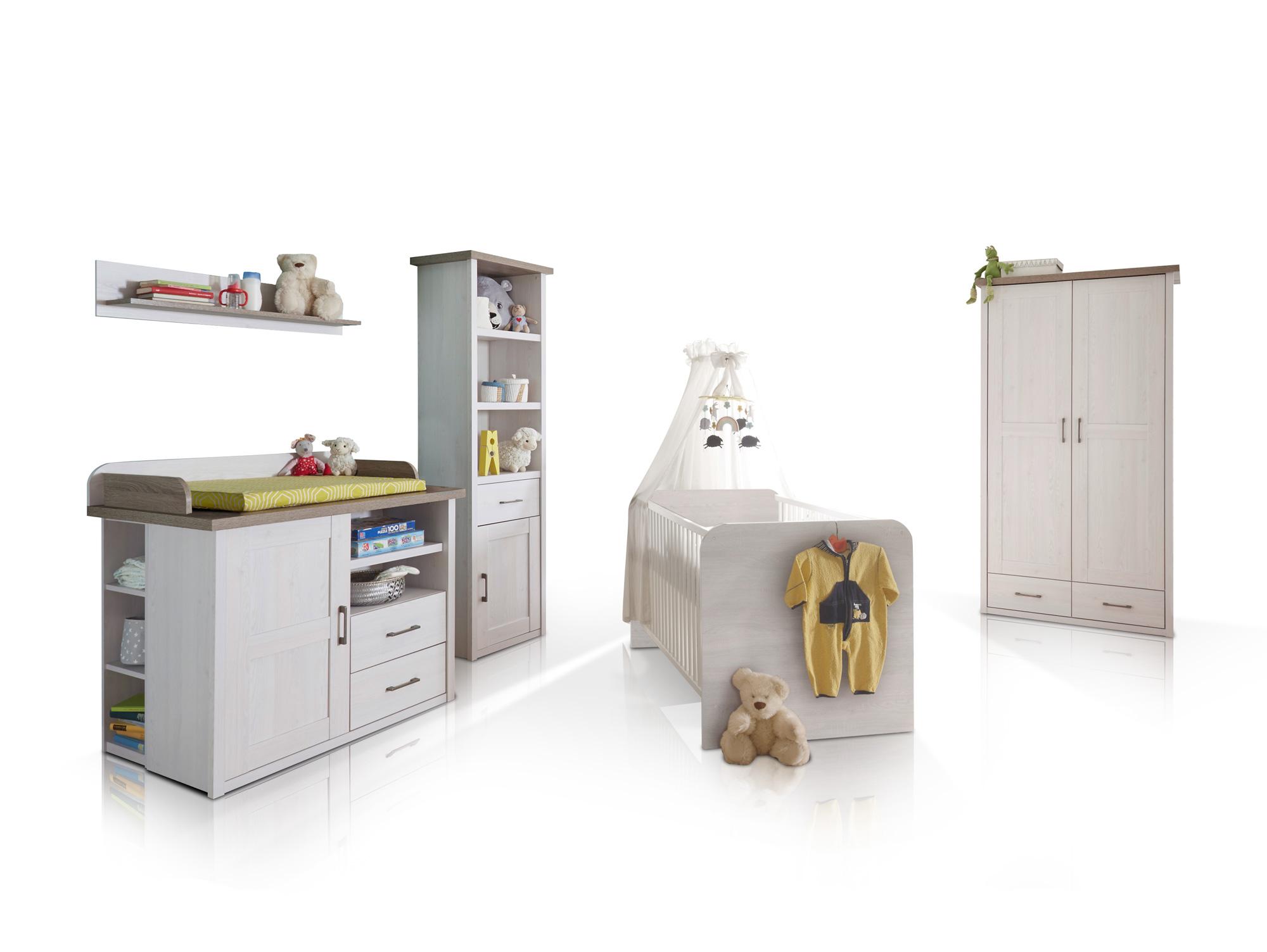 luba babyzimmer pinie wei tr ffel. Black Bedroom Furniture Sets. Home Design Ideas