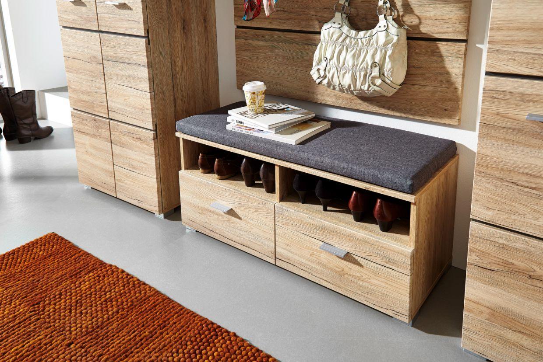feodora bank san remo eiche. Black Bedroom Furniture Sets. Home Design Ideas