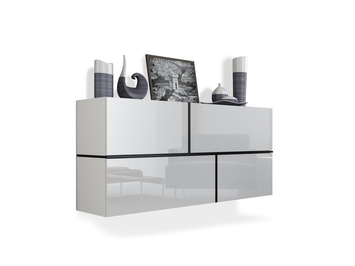 georg h ngekommode weiss schwarz. Black Bedroom Furniture Sets. Home Design Ideas
