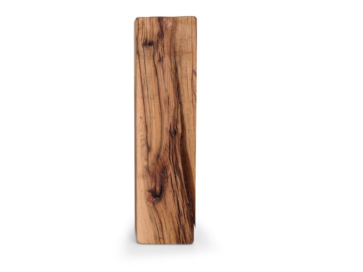 nelke hocker st nder deko holzbalken 80 cm gro sumpfeiche. Black Bedroom Furniture Sets. Home Design Ideas