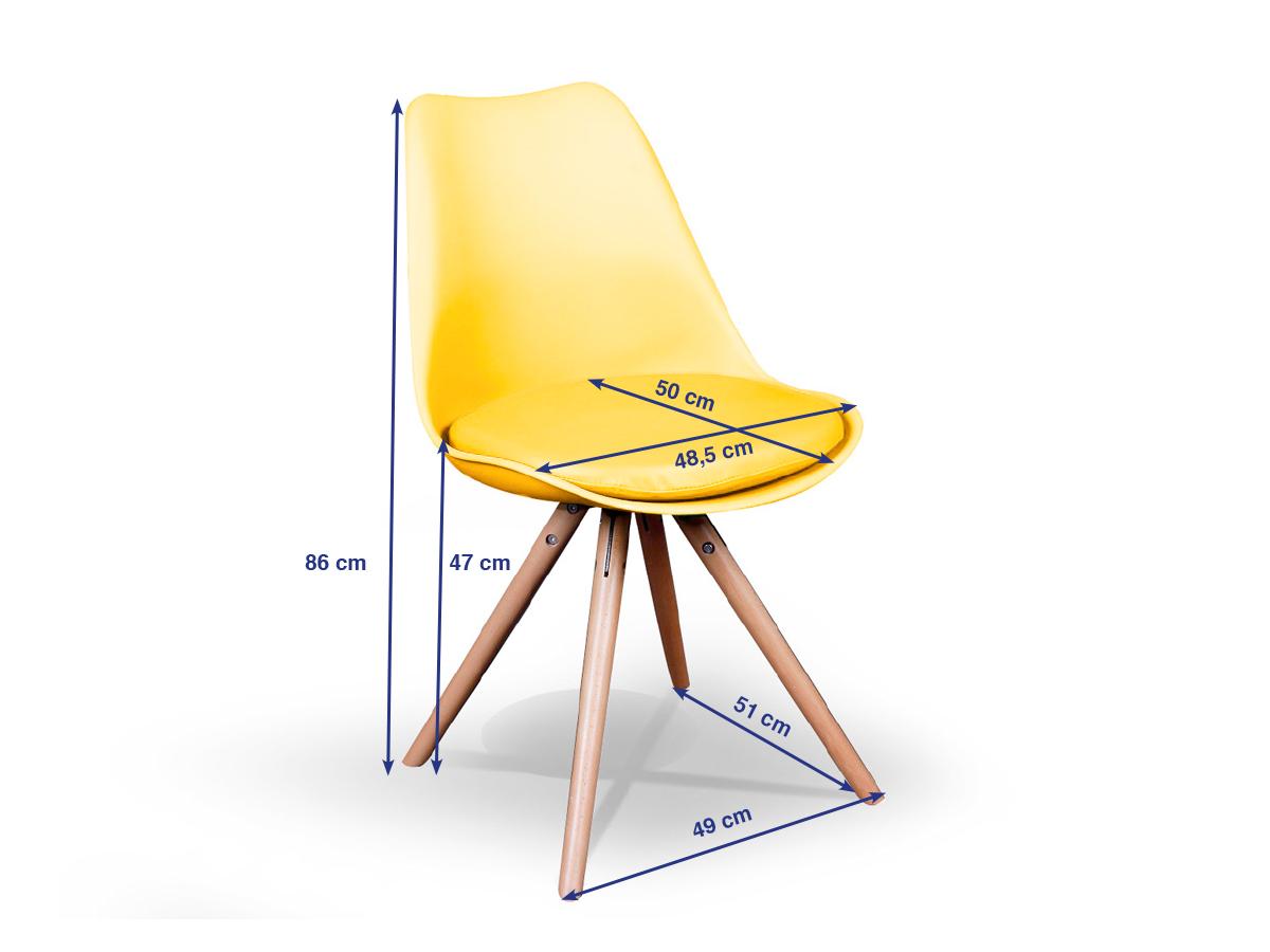 Willy esstischstuhl schalenstuhl mit eiche f e t rkis for Esstischstuhl design